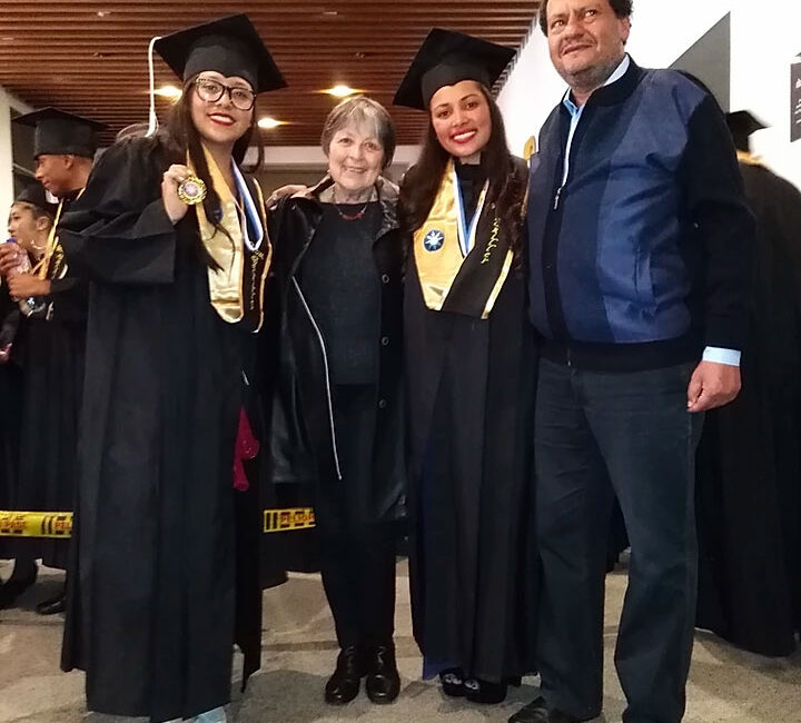 Fenix students graduation day in Bogota, Colombia