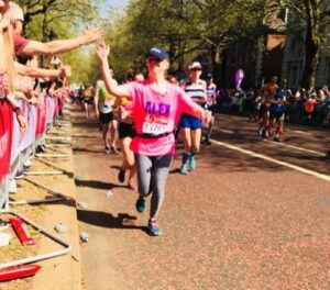Trustee Alex ran the London Marathon to raise funds for Children of Colombia