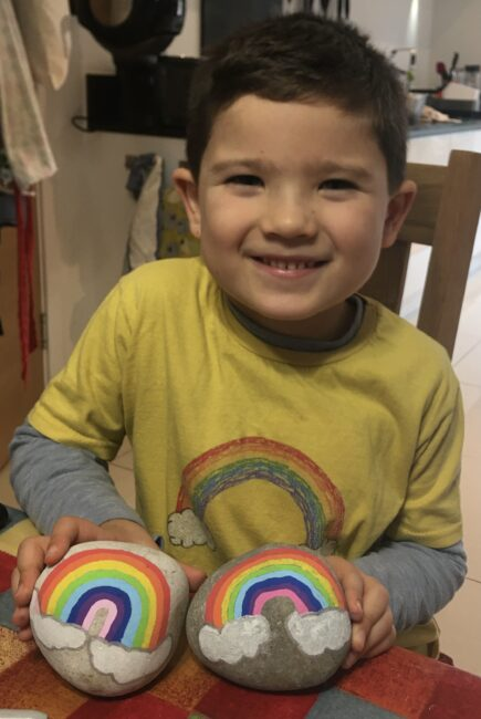 Samuel Gelvez raised money for Children of Colombia's Bed Appeal to help sick children at the Luz y Vida home in Bogota