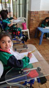 Education is important at Luz y Vida children's care home in Bogota